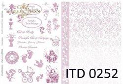 Papier decoupage ITD D0252M