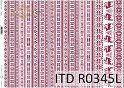 Papier ryżowy ITD R0345L