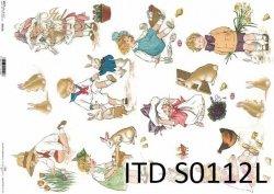 Papier decoupage SOFT ITD S0112L