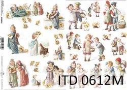 Papier decoupage ITD D0612M