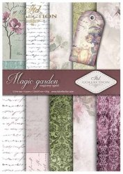 .Papier do scrapbookingu SCRAP-014 ''Magic Garden''