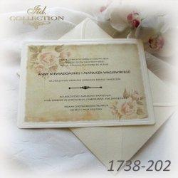 Zaproszenia ślubne / zaproszenie 01738