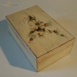 Pudełko ozdobne - Margaretka
