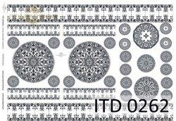 Papier decoupage ITD D0262M