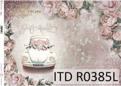 Papier ryżowy ITD R0385L