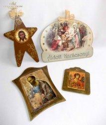 Obrazki święte -  praca Kalfetka Ltd. Węgry