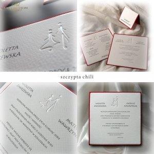 Zaproszenia ślubne / zaproszenie 1710