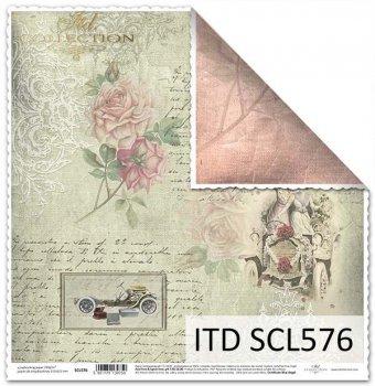 Бумага для скрапбукинга SCL576