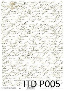 Прозрачная бумага для скрапбукинга P0005