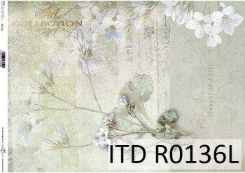 рисовая бумага для декупажа R0136L