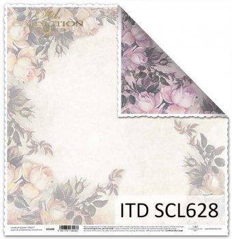 Бумага для скрапбукинга SCL628