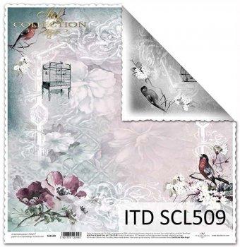 Бумага для скрапбукинга SCL509