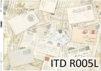 рисовая бумага для декупажа R0005L