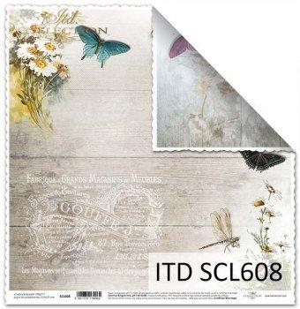 Бумага для скрапбукинга SCL608
