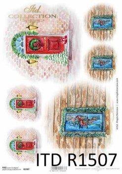 рисовая бумага для декупажа R1507