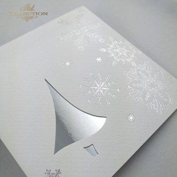 Рождественская и Новогодняя открытка K516