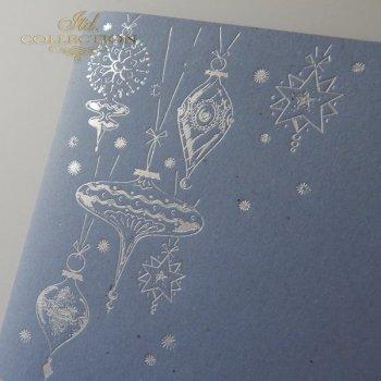 Рождественская и Новогодняя открытка K592