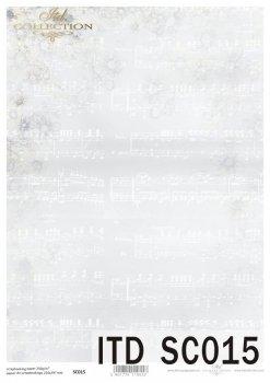 бумага для скрапбукинга SC0015