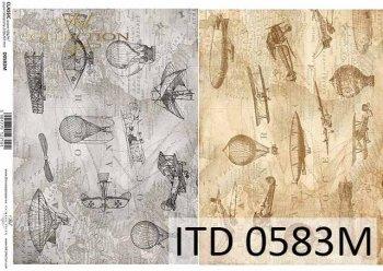 бумага для декупажа классическая D0583M