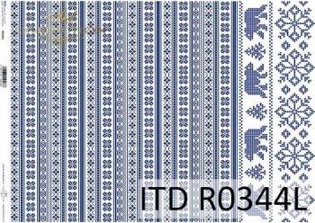 рисовая бумага для декупажа R0344L