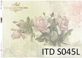 бумага для декупажа SOFT S0045L