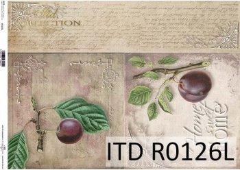 рисовая бумага для декупажа R0126L