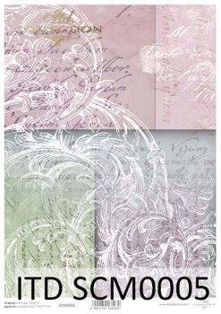 Скрапбукинг бумаги SCM0005