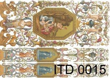 бумага для декупажа классическая D0015