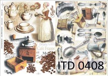бумага для декупажа классическая D0408