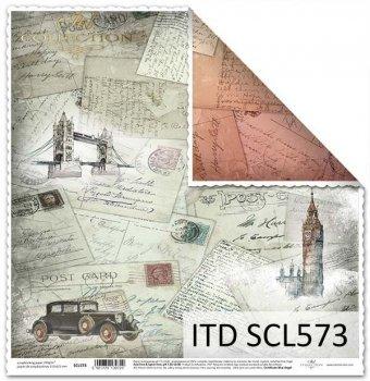 Бумага для скрапбукинга SCL573