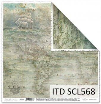 Бумага для скрапбукинга SCL568