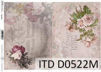 бумага для декупажа классическая D0522M
