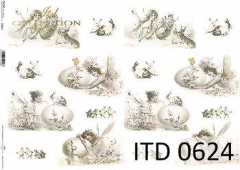 бумага для декупажа классическая D0624