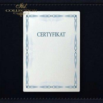 диплом DS0311 универсальный сертификат