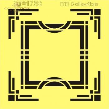 .шаблон для скрапбукинга 16x16 cм ST0173B
