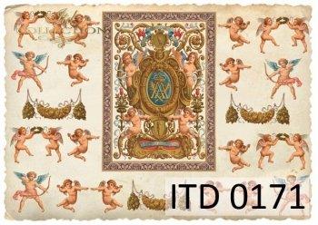 бумага для декупажа классическая D0171