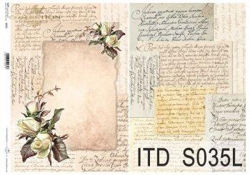 бумага для декупажа SOFT S0035L