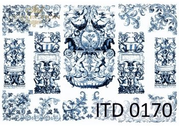 Papier decoupage ITD D0170M
