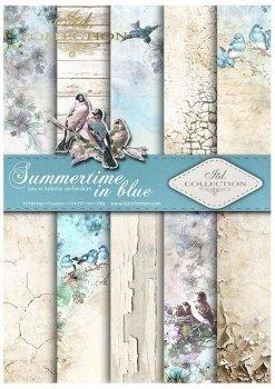 Скрапбукинг бумаги SCRAP-046 ''Summertime in blue''''