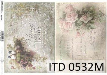бумага для декупажа классическая D0532M