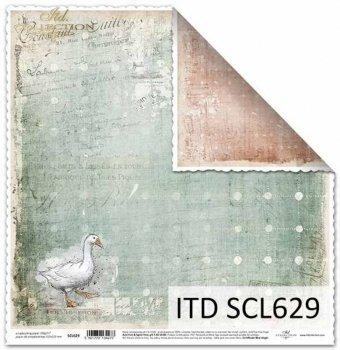 Бумага для скрапбукинга SCL629