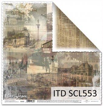 Бумага для скрапбукинга SCL553
