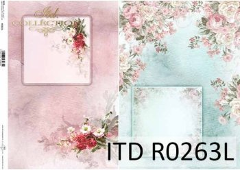 рисовая бумага для декупажа R0263L