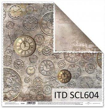 Бумага для скрапбукинга SCL604