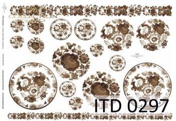 бумага для декупажа классическая D0297M