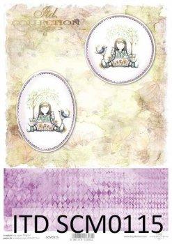 Скрапбукинг бумаги SCM0115