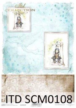 Скрапбукинг бумаги SCM0108