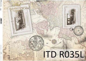 рисовая бумага для декупажа R0035L