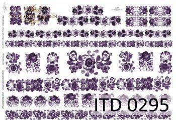 бумага для декупажа классическая D0295M