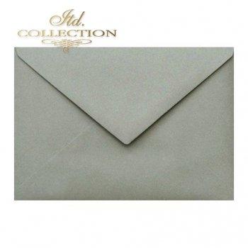 Конверт KP04.12 114x162 серый
